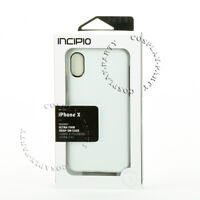 Incipio Feather iPhone X & iPhone XS Slim Hard Case Snap Cover - Glossy White