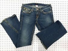 USA Made! TRUE RELIGION Section DISCO Low-Rise Flare 30w / 33in 602566 10-503VP