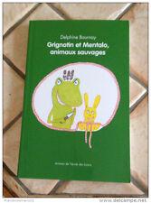 BD Grignotin et Mentalo animaux sauvages Delphine Bournay 7/11Ecole des loisirs