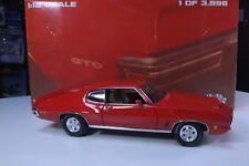 GMP 1/18 1972 Pontiac GTO Hardtop w/Ducktail Spoiler Ltd Ed #8043