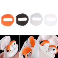 4Pcs Silicone Antislip Ear Tips Case Cover Fit For Air Pods Ear Pods EarbudsSK