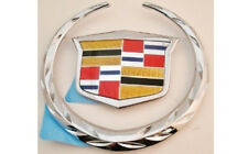 Cadillac CTS COUPE 2011 2012 2013 2014 Rear Wreath & Crest!!