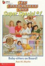 The Baby-Sitters Club Super Special: Baby-Sitters on Board! No. 1 by Ann M. Mar…