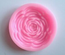 Peony Flower Silicone Mold Fondant Mat Cake Decorating Cupcake Design Petal soap