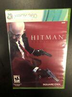 Hitman Absolution Xbox 360 Brand New Factory Sealed NIB Complete CIB Microsoft