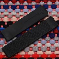 Cinturino di ricambio in gomma siliconica nera da 20mm per T-Touch Z353