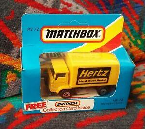 Matchbox Model ~ MB72 - Dodge Commando - Hertz Van & Truck Rental - Macau c.1984