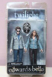 "NECA Twilight Edward Cullen & Bella 7"" Action Figures  - Neca Reel Toys"