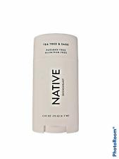 Native TEA TREE & SAGE Deodorant Paraben / Aluminum Free 2.65 oz **NEW**
