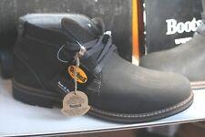 DOCKERS BOOTS  Neu asfalt natur   Nubukleder geraut/geöl  44