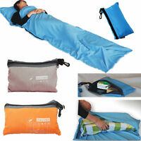 Hot Single Liner Silk Satin Inner Travel Hostel Sheet Sack Camping Sleeping Bag
