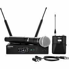 Shure QLX-D Series Handheld/Lavalier Combo Wireless System QLXD124/85-G50 Band