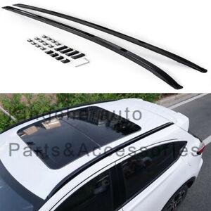 Fits for honda HRV HR-V VEZEL 2014-2020 aluminium baggage roof rail rack bar