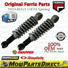 Oem Ferris / Simplicity 5023483 Zero Turn Front Suspension Shock Assembly / 2 Pk