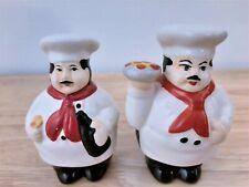 Italian Cook Salt and Pepper Shakers