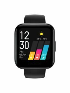 """Oppo Realme Watch 1.4"""" Color Display Heart Rate & Blood-oxygen Monitor Black NEW"""