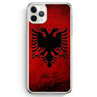 Albanien Splash Flagge iPhone 11 Pro Max Hülle Motiv Design Albanisch Cover H...