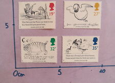 ROYAUME UNI NEUF 1988 EDWARD LEAR ART UK MNH EDWARD LEAR