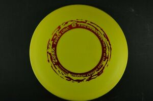 Sniper Wreath Stamp 152g OOP Yellow Vintage Ching New *PRIME* Disc Golf