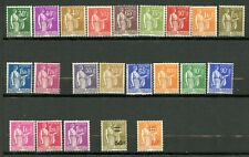 France, Yvert Type Paix 280/289**(285BC), 298&359**, 363/371**, MNH