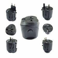 Black Universal Travel Plug Power Outlet Socket Adapter Converter US UK EU AU