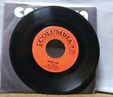 Kitty Kallen Need Me / The Old Feeling 45 Rpm Record