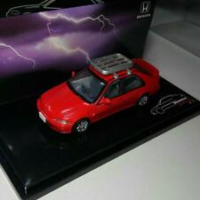 Hi Story 1/43 Mini Model Car Honda Civic Ferio VTI red