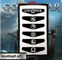 PS4 Controller Light bar 6x GOD OF WAR Vinyl Decal Sticker Playstation 4 GOW