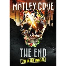 MOTLEY CRUE THE END LIVE IN LOS ANGELES DVD ALL REGIONS NTSC NEW