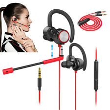 3.5mm Gaming Headset Mic LED Headphone Stereo Surround for Red PS4 Xbox ONE 360E