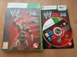 WWE 2K14 (Microsoft Xbox 360, 2013) Complete with Manual