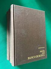STORIA DEL BANCO DI ROMA - Gabriele De Rosa - Banco di Roma - 1984