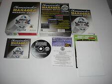 CHAMPIONSHIP Manager Stagione 99/00 PC CD ROM cm 99/00 ORIGINALE BIG BOX