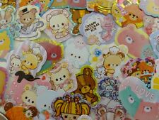 Cute Bear flake stickers Journal Planner kawaii craft kids love special gift Lot