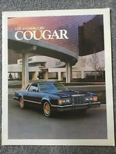 Mercury Cougar 1979 USA Market Sales Brochure Brougham XR-7