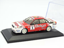 Minichamps 1/43 -  Audi V8 QUATTRO EVO BELGA N°1 BELGIAN PROCAR 1993