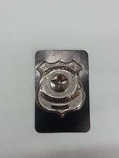 PLACCA GIOCATTOLO POLIZIA AMERICANA POLICE FBI NCIS DISTINTIVO METALLO WALLET