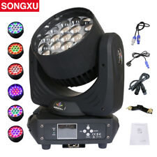 19x15W RGBW 4in1 LED Zoom Moving Head Light Wash Moving Head Light/SX-MH1915A