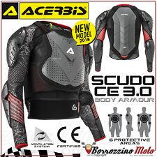 PETTORINA COMPLETA ACERBIS SCUDO CE 3.0 BODY ARMOUR MOTOCROSS ENDURO OFFROAD XXL
