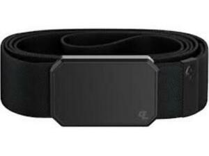 GROOVE LIFE (NIB) GROOVE BELT BLACK/BRUSHED BLACK SIZE MEDIUM (M)