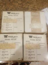 TRIPLETT PANEL METER 420-E/LC   RA: 4-20 POWER : 5V NEW IN BOX SURPLUS INVENTORY