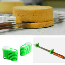 2 X 5 Layers Kitchen Cake Bread Cutter Leveler Slicer Cutting Fixator DIY Tools