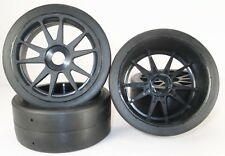 1/8 On-road Slick BSK Buggy Tires Glued