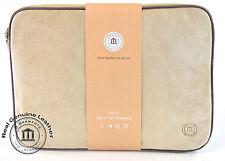 "DBramante 1928 Genuine Sandstone Suede Leather Sleeve Case Laptop Tablet 11"" 12"""