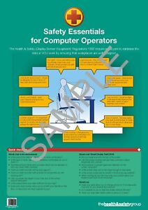 Computer Safety Poster - (A2)