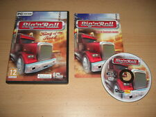 RIG 'n' ROLL - King Of The Road  Pc DVD Rom FAST POST