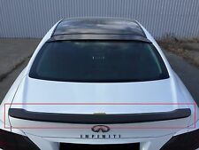 Trunk lid Spoiler for Infiniti M37 | SCL Global Concept™