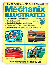 Mechanix Illustrated SEPTEMBER 1972 '73 Ford and Plymouth How to Repair a Floor
