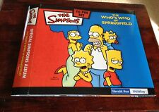 2006 The Who's Who of Springfield The Simpsons 16 Pin Set