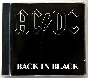 AC/DC - Back In Black - ©&®1980 Atlantic 1° STAMPA Made In Germany